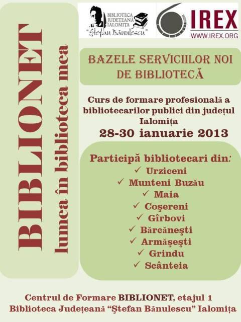 BAZELE SERVICIILOR NOI DE BIBLIOTECA