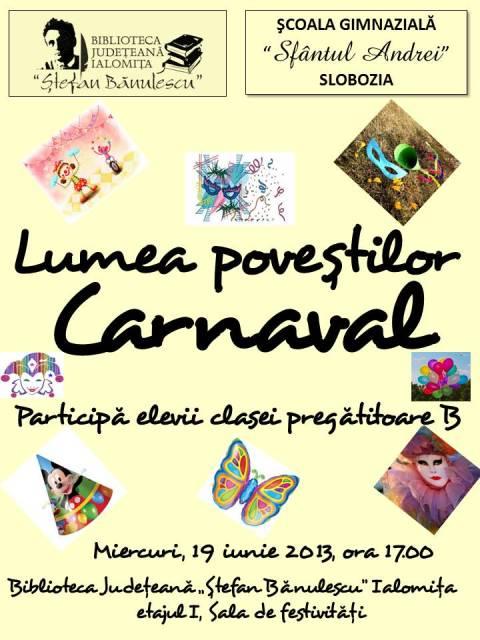 Lumea poveştilor- Carnaval!