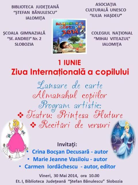 Lansare de carte - Almanahul copiilor