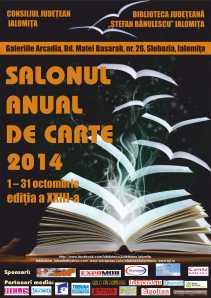 Afis SALONUL DE CARTE - 2014 3