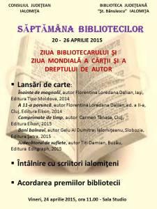 Sapt. bibliotecilor + AFIS