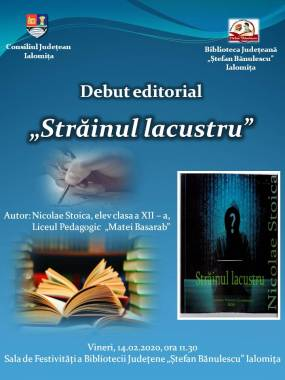 Afis - Lansare de carte (Nicolae Stoica)